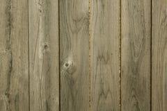 Cerca de madera con el grano de madera Imagen de archivo libre de regalías