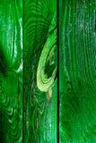 Cerca de madera del colorete viejo hermoso Foto de archivo libre de regalías