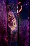Cerca de madera del colorete viejo hermoso Imágenes de archivo libres de regalías