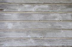 Cerca de madera del Grunge con los nudos Fotos de archivo libres de regalías