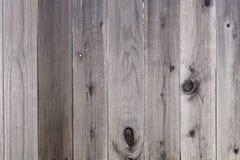 Cerca de madera del patio trasero Fotos de archivo libres de regalías