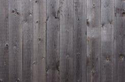 Cerca de madera gris Fotografía de archivo libre de regalías