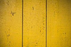Cerca de madera de la pintura de la peladura Fotografía de archivo libre de regalías