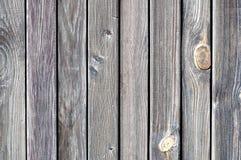 Cerca de madera resistida negro Fotografía de archivo