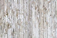 Cerca de madera resistida viejo blanco imagen de archivo libre de regalías