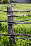 Cerca de madera rural Imagenes de archivo