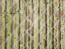 Cerca de madera vieja Fotografía de archivo