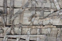 Cerca de madera vieja Imágenes de archivo libres de regalías