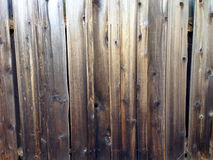 Cerca de madera vieja envejecida rústica de los tableros de madera ásperos sucios fotos de archivo