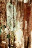 Cerca de madera vieja quemada Fotografía de archivo
