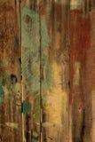 Cerca de madera vieja quemada Imagen de archivo libre de regalías