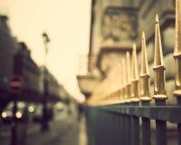 Cerca de Paris do vintage imagem de stock