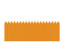 Cerca de piquete de madera Imagen de archivo libre de regalías