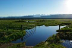 Cerca de rand, Colorado Imagenes de archivo