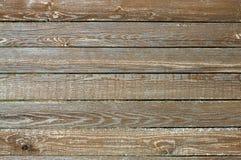 Cerca de tablones horizontales de madera como primer del fondo Foto de archivo