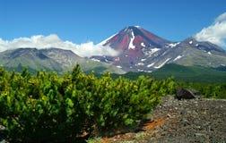 Cerca de vulcan. Imagenes de archivo