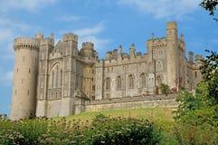 Cerca del castillo Imagen de archivo libre de regalías