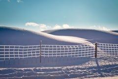 Cerca del hielo Foto de archivo