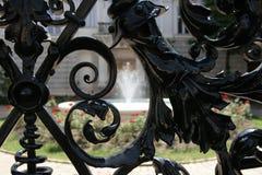 Cerca del hierro Foto de archivo libre de regalías