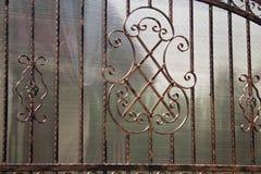 Cerca del hierro Imagen de archivo