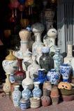 Cerca del mercado de Ben Thanh imagenes de archivo