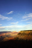 Cerca del punto de Maricopa, opinión de la última hora de la tarde en el río Colorado Imágenes de archivo libres de regalías