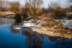 Cerca del río Fotos de archivo libres de regalías