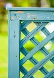 Cerca do jardim Imagens de Stock