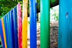 Cerca do jardim de infância Fotos de Stock Royalty Free