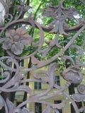 Cerca do jardim de Mikhailovsky, St Petersburg, Rússia Imagem de Stock