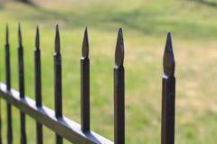 Cerca do metal Imagem de Stock