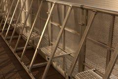 Cerca do metal para os eventos da segurança unidos Foto de Stock Royalty Free