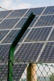 Cerca do painel photovoltaic Imagens de Stock