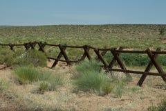 Cerca do rancho imagens de stock