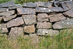 Cerca Drystone fotografia de stock