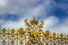 Cerca en el palacio de Versalles Fotografía de archivo libre de regalías