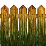 Cerca en hierba Imágenes de archivo libres de regalías