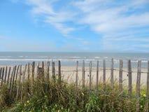 Cerca en la playa Imagen de archivo