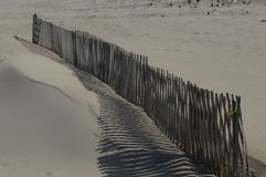 Cerca en la playa Foto de archivo libre de regalías