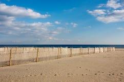 Cerca en la playa Imagenes de archivo