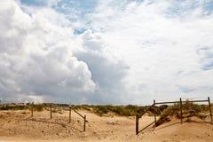 Cerca en la playa de Guincho Fotografía de archivo