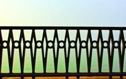 Cerca forjada bonita Imagem de Stock Royalty Free