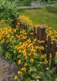 Cerca Gardening Foto de archivo