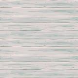 Cerca horizontal blanca inconsútil del vector Textura retra de los tableros Fondo a mano de madera del vintage Imagen de archivo libre de regalías