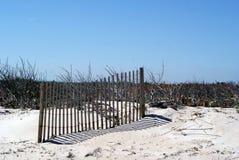 Cerca inteira da praia Imagem de Stock Royalty Free