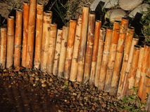 Cerca japonesa de bambu. Fotografia de Stock Royalty Free