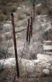 Cerca Line, límite Imagen de archivo