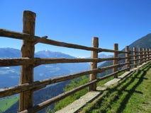 Cerca natural nos cumes Foto de Stock