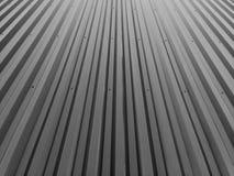 Cerca ondulada do metal Imagens de Stock