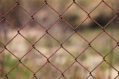 Cerca oxidada Imagens de Stock